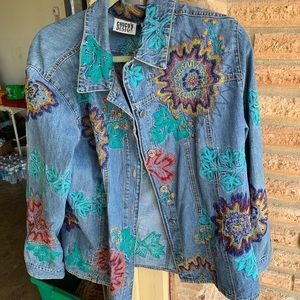 Chico's light cover jacket size 3